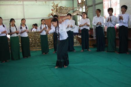 Mandalay School of Fine Art.