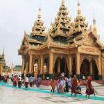 Shwedagon Pagoda-higlight of Myanmar Laos Vietnam itinerary
