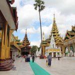 Shwedagon Pagoda in Myanmar Thailand Tour