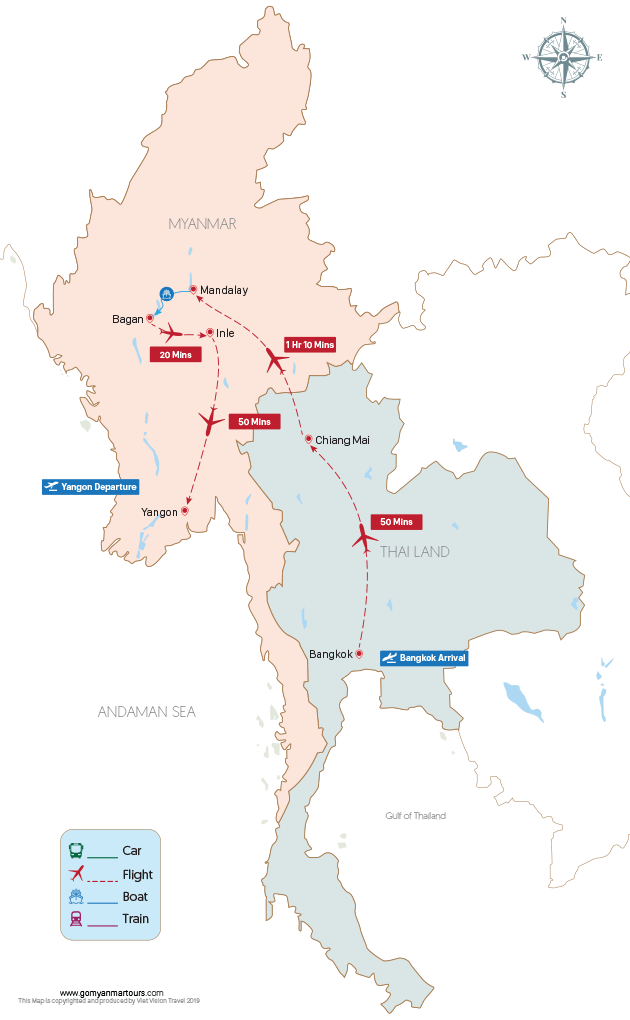 Thailand & Myanmar Essential - 15 days