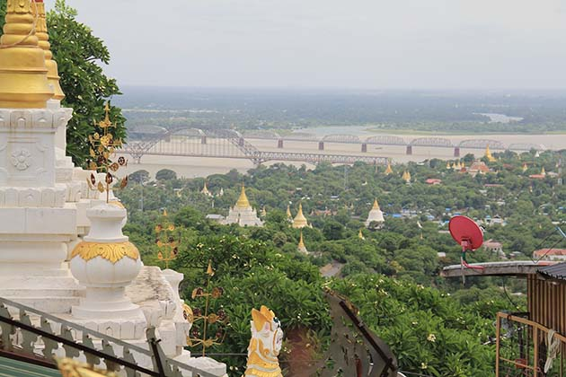 View from Sagaing Hill