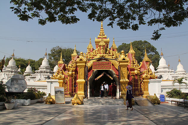 kuthodaw pagoda -home to the largest book in the world