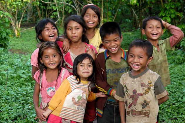 lovely children in Alak village