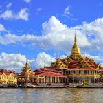 phaung daw oo pagoda is the holiest religious site in Inle Lake