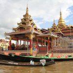 phaung daw oo pagoda the holiest site in Inle lake