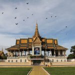 the royal palace in Phnompenh