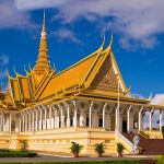 the royal palace of Phnom Penh