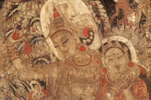 Birth of the Buddha, 12th century, Bagan