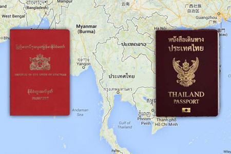 Thailand, Myanmar Ink Free Visa Deal