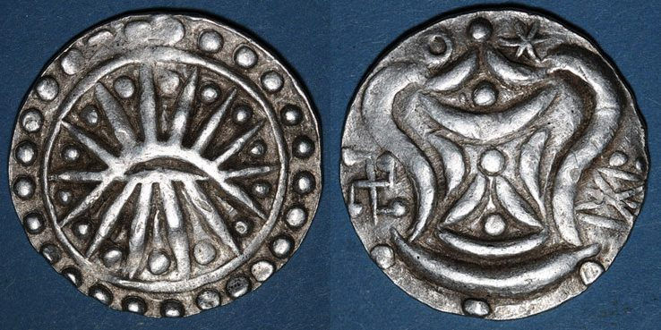 The antiquity of Beikthano is vouched by the recovery of uninscribed coins or medals known as Pyu coins