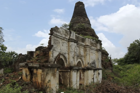 The remains of a cities in Halin, Beikthano, and Sri Ksetra located in Myanmar reflect the Pyu Kindoms that thrived between 200 B.C and 900 A.D