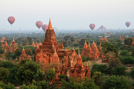 Bagan - The former capital of Myanmar