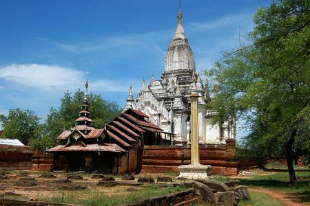 Lemyethna Pagoda, Myanmar