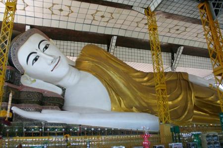 Shwethalyaung Buddha Image