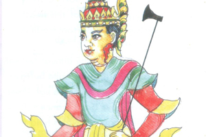 The Gya Min (Lord of Deva)