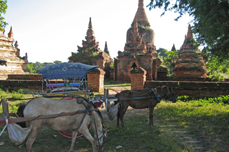 Inwa historical site in Myanmar