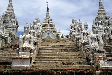 Mingun historical site of Myanmar
