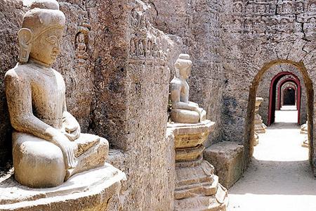Mrauk U historical site