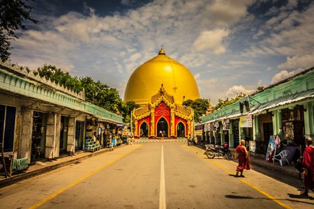 Sagaing historical site of Myanmar