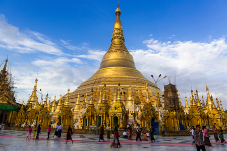 Shwedagon Pagoda is the most Holy Site in Yangon