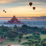 Bagan temple - the surreal alluring in morning view