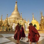 shwedagon pagoda - home to several relics of Buddha
