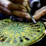 Art of making lacquerware in Myanmar