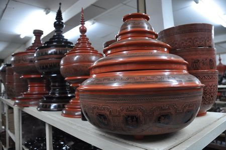 High Quality Lacquerware in Myanmar