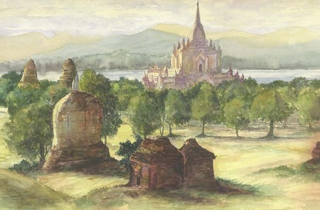 Myanmar Art of Painting
