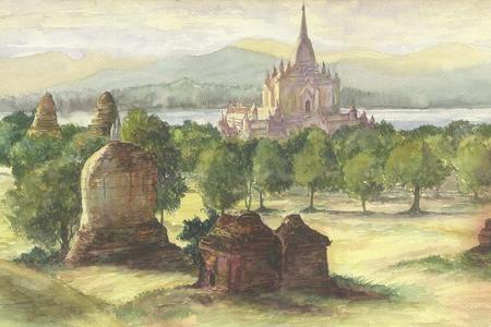 Myanmar Art of Painting