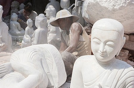 Pantamault - Art of Stone Sculpting in Myanmar