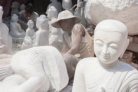 Pantamault - Art of Stone Sculpting in Myanmar