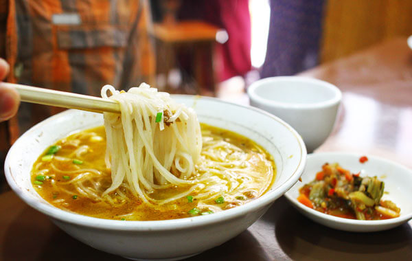 999 Shan Noodle House - one of the best restaurants in Yangon
