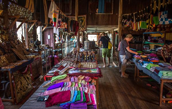 A Souvenir Shop in Inle