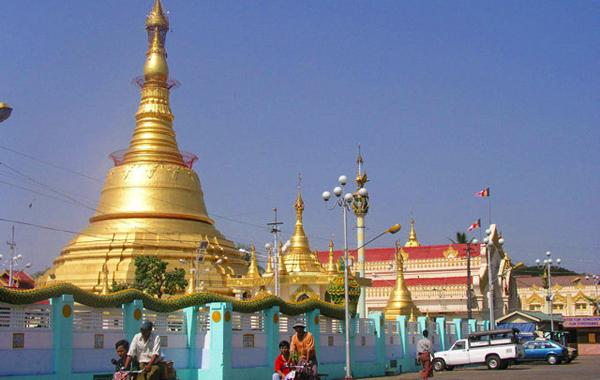 Botahtaung Pagoda, Yangonoda, Yangon2