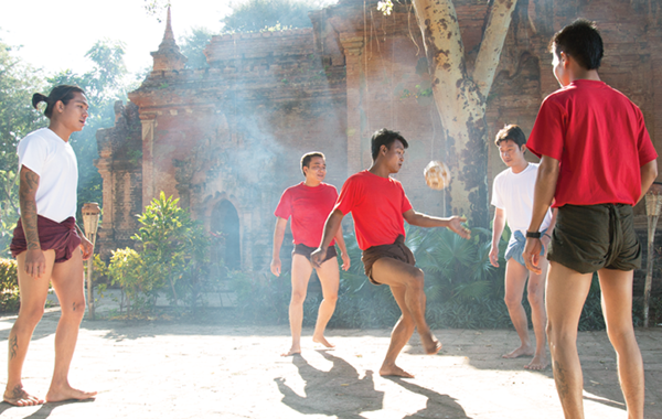Chinlon - Traditional Sport of Burmese