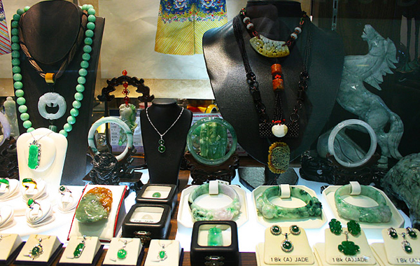 Colourful Jade & Jewellery