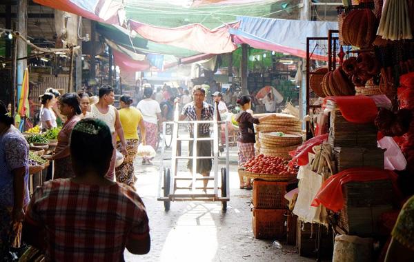 ThiriMingalar Market Yangon