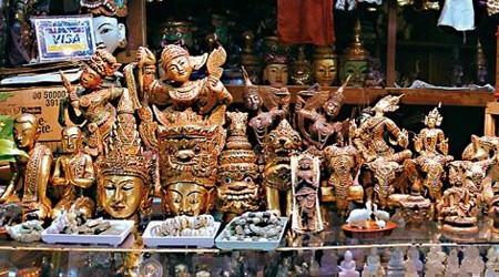 Handicrafts, Lacquerware & Souvenir Shops in Yangon