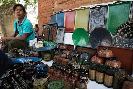 Handicrafts Lacquerware Amp Souvenir Shops In Bagan