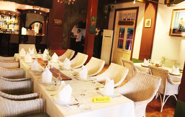 Inside the House of Memories Restaurant