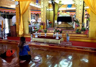 Inle Lake Phaung Daw Oo Pagoda Shrine