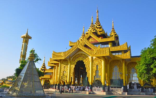 Kyauktawgyi Pagoda near Kuthodaw