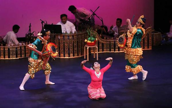 Myanmar Concert (Myanmar A-Nyeint or Zat-Pwe)