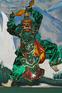 Myanmar Marionette puppet