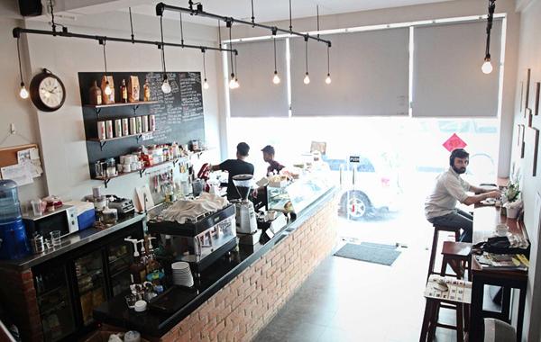 Press Coffee Office Yangon