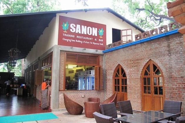 Sanon - top 10 best bagan restaurants