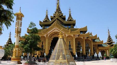 Kyauktawgyi Pagoda Yangon Myanmar