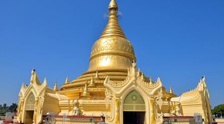 Golden Stupa of Maha Wizaya Pagoda, Yangon , Myamar