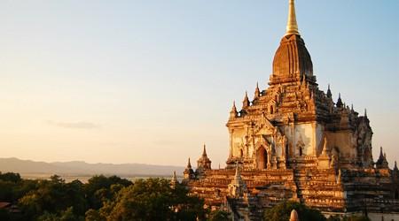 Gawdawpalin Temple Bagan